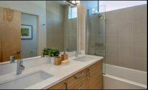 Vanity, Sink and Tub